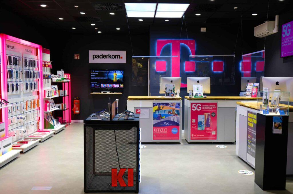 Telekom Shop Paderborn im SÜDRING-Center